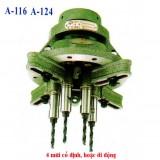 Đầu khoan, đầu tarô 2-4 mũi A-Series