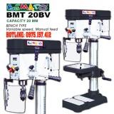 Máy khoan bàn 20mm Bemato BMT-20BV, máy khoan bàn 1.5HP tốc vô cấp, khoan đứng giá rẻ