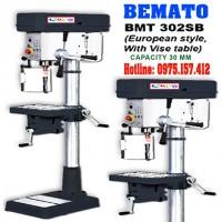 Máy khoan bàn 30mm hiệu Bemato BMT-302SB, khoan bàn chuẩn châu âu, công suất 1HP
