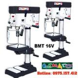 Máy khoan bàn Bemato BMT-16V, khoan bàn 16mm tốc độ vô cấp, công suất 1.5HP, tấm che phôi an toàn.