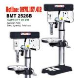 Máy khoan bàn Bemato BMT-252SB, khoan bàn 25mm taro M4~M16, công suất 2HP.