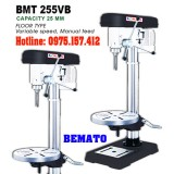 Máy khoan bàn Bemato BMT-255VB khoan 25mm, khoan bàn 2HP (1500W) giá rẻ