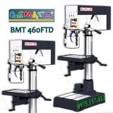 Máy khoan bàn Bemato BMT-460FTD, khoan bàn 32mm, taro M4-M20, bàn vuông, công suất 2HP (1500W)