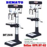 Máy khoan bàn Taiwan 25mm Bemato BMT-256VB, khoan bàn 2HP (1500W) giá rẻ.