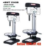 Máy khoan bàn tự động 25mm Bemato BMT-254SB, khoan bàn Taiwan 2HP (1500W) khoan 25mm.