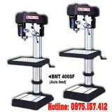 Máy khoan bàn tự động BMT-400SF, khoan bàn 32mm có taro 16mm, khoan đứng 1.5HP Taiwan
