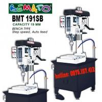 Máy khoan bàn tự động Bemato BMT-191SB, khoan bàn 4~19mm, tự động ăn phôi, công suất 1HP (750W).