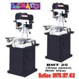 Máy khoan phay Bemato BMT-25, khoan bàn 25mm. 3/4HP giá rẻ