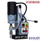 Máy khoan từ Euroboor ECO.32T, máy khoan từ 32mm, taro M3-M12