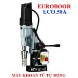 Máy khoan từ tự động Euroboor ECO.55A, khoan 55mm tự động ăn phôi.