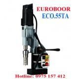 Máy khoan từ tự động kèm ta rô Euroboor ECO.55TA, khoan 55mm, ta rô M3-M20