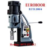 Máy khoan từ Euroboor ECO.100/4, khoan từ 12-100mm, ta rô M3-M30