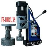 Máy khoan từ đế xoay kèm taro FE-100RLS, máy khoan từ 12-100mm 1800W, khoan từ kèm taro M5-M30