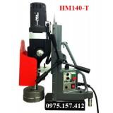Máy khoan từ có ta rô hiệu JEI HM140T, khoan 44mm khoét 12-140mm ta rô M6-M44