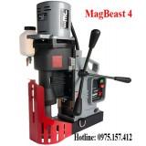 Máy khoan từ MagBeast 4, khoan từ 110mm có taro M30 xuất xứ châu âu.