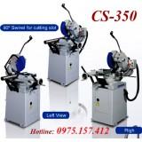 Máy cưa đĩa 350mm CS-350, cưa đĩa Taiwan, tốc độ điều chỉnh biến tần inverter, 3HP-3phase