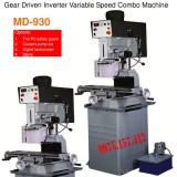 Máy khoan bàn phay 32mm tốc độ vô cấp MD-930, khoan phay Linmac 2HP (1500W), khoan phay và taro.