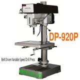 Máy khoan bàn và taro vô cấp DP-920P, khoan bàn 32mm taro 19mm, tốc độ vô cấp.