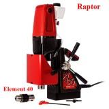 Máy khoan từ 12-40mm hiệu Raptor Element 40, máy khoan từ giá rẻ
