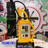 Máy khoan từ Powerbor PB100E FRV, máy khoan từ 100mm taro M6-M30