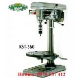 Máy khoan bàn và taro KST-560, khoan bàn 30mm taro 16mm.