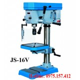 Bán máy khoan bàn 16mm tốc độ vô cấp JS-16V, khoan bàn 16mm công suất 1.5HP giá rẻ