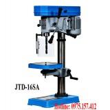 Máy khoan bàn manual 16mm JTD-16SA, khoan bàn 3-16mm Đài Loan 1HP giá rẻ.