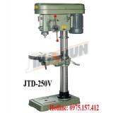 Máy khoan bàn tự động ăn phôi 25mm JTD-250V, khoan bàn Đài Loan 2HP giá rẻ, khoan bàn 25mm