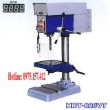 Máy khoan bàn và taro tốc độ vô cấp HDT-820VT, máy khoan bàn có taro 20mm.