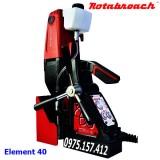Máy khoan từ Rotabroach Element 40, khoan khoét 40mm, khoan xoắn 13mm.